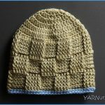 Crochet Tutorial: Basket Weave Baby Hat