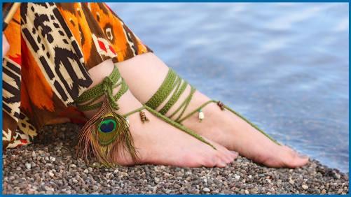 Tribal Sandals