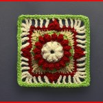 Crochet Tutorial: Be the Light Granny Square