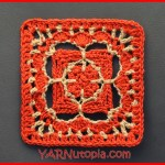 Crochet Tutorial: Charming Chain Granny Square