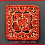 Crochet Tutorial: Charming Chain Granny Square