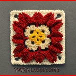 Crochet Tutorial: In Full Bloom Granny Square