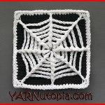 Crochet Tutorial: The Web We Weave Granny Square
