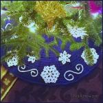 Crochet Tutorial: Fabulous Flurries Tree Skirt