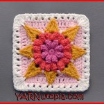 Crochet Tutorial: Hello, Sunshine Granny Square