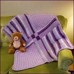 Crochet Tutorial: Patchwork Medley Baby Blanket