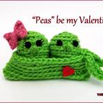 Crochet Tutorial: Two Peas in a Pod