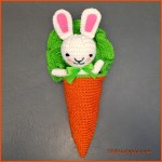 Crochet Tutorial: Bunny Amigurumi in a Carrot Cocoon