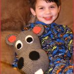 Crochet Tutorial: Happy Hubert the Hippo Pillow