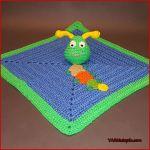 Crochet Tutorial: Caterpillar Lovey
