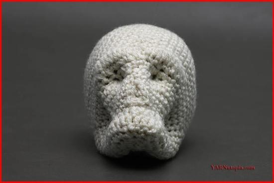 Sugar Skull Amigurumi Free Crochet Pattern • Spin a Yarn Crochet   367x550