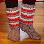Crochet Tutorial: Winter Chic Slippers
