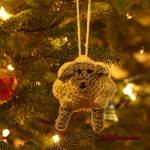 12 Days of Christmas: Sheep Ornament