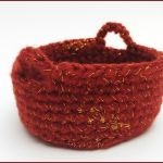 Crochet Tutorial: Simple Basket