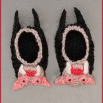 How to Crochet Tutorial: Vampire Bat Baby Booties
