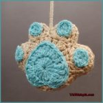 12 Days of Christmas: Paw Print Ornament