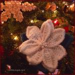 12 Days of Christmas: Poinsettia with Pearls