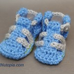 Crochet Tutorial: Baby Hiking Sandals