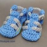 Crochet Tutorial: Baby Hiking Sandals