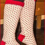 Crochet Tutorial: Fair Isle Knee High Socks