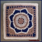 Crochet Tutorial: Where Love Grows Afghan Block