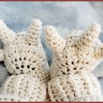 FREE Written Crochet Pattern: Monster Feet Baby Booties