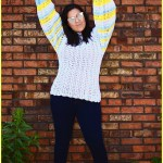 FREE Written Crochet Pattern: Summer Fun Sweater