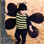 FREE Crochet Video Tutorial: Bumble Bee Romper and Beanie Costume