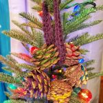 12 Days of Christmas: Pine Cone Wreath Ornament