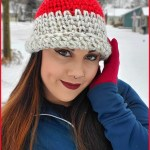 FREE Written Crochet Pattern: New Year, New Me Chunky Hat