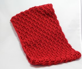 Red Shelly Cowl 7