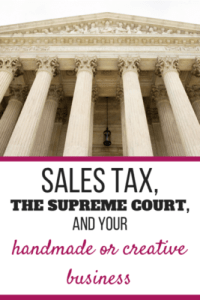 On Thursday June 21, 2018 the Supreme Court passed a law in which every state who has not already done so may now pass laws requiring all online retailers to collect sales tax and remit it to the state where the customer lives.