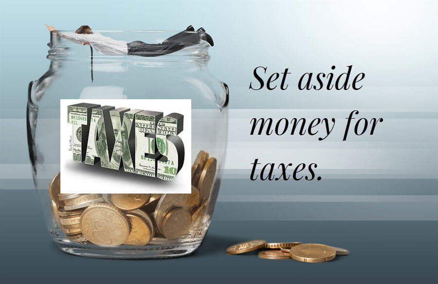 Set aside your tax money