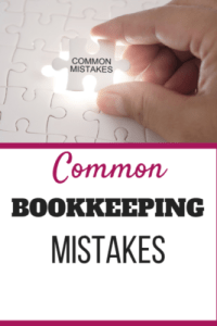 8 common bookkeeping mistakes and some bad advice found on the internet