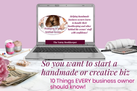 Free Introductory Webinar - 10 things EVERY handmade or creative business owner should know