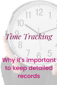 Time tracking keeps us accountable, helps us manage our time
