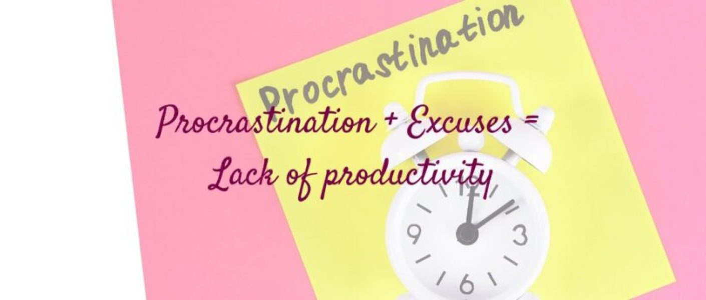 Procrastination is the act of delaying or postponing something and is often a coping mechanism associated with starting or completing an undesirable or difficult task or making a decision.