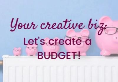My Creative Biz-Let's Create a Budget