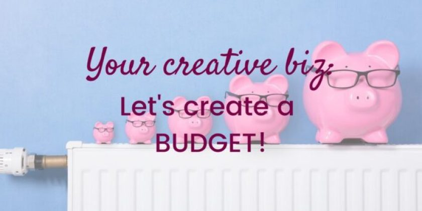 My Creative Biz-Let's Create a Budget