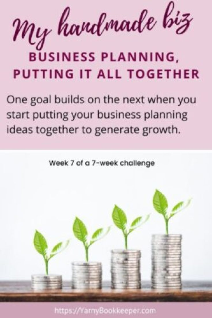 One goal builds on the next when you start putting your business planning ideas together to generate growth.