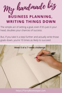 The simple act of setting a goal, even if it's just in your head, doubles your chances of success. But, if you take it a step further and actually write those goals down, you're 10 times as likely to succeed.