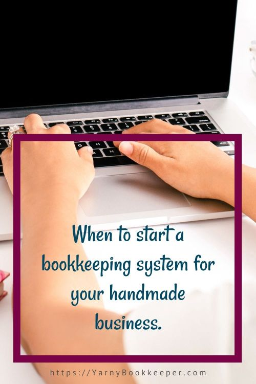 It doesn't matter if you didn't make a profit or only had $100.00 in sales.  As soon as you make your first sale you have tax liabilities of some kind and you need to have a bookkeeping system in place!