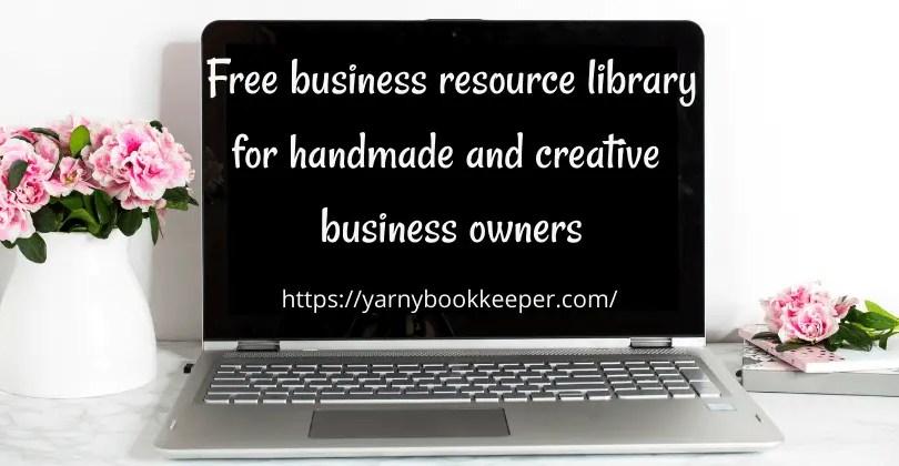 Handmade business Resource Library