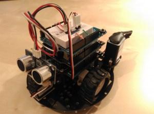 Arduino robot front