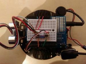 Arduino robot top