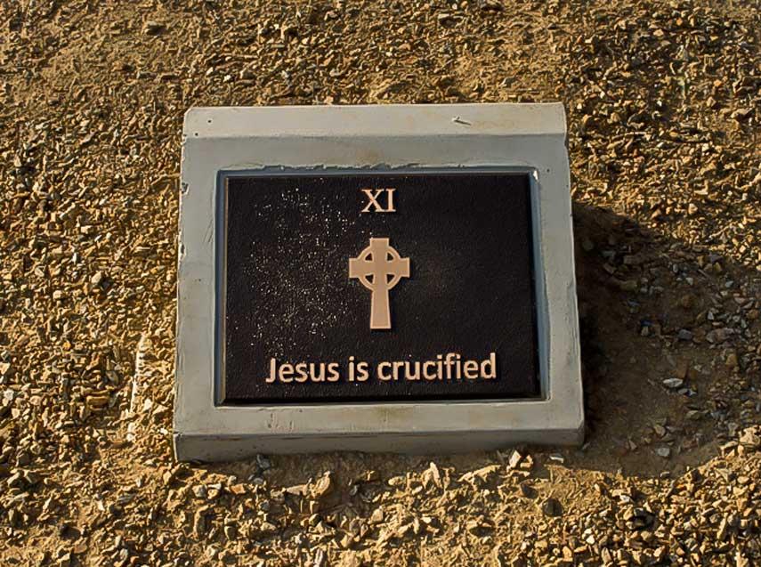 Jesus, Station 11