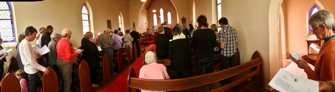 Final Service at St. Albans, Tungamah