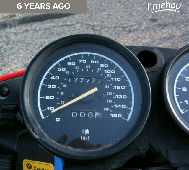6 years ago, I bought my first motorcycle. Clearly, I was not the first owner. This 1994 BMW R1100RS had more miles on it than my 1997 BMW M3 that day. It also had far more complete service records. I sold it a year later for close to what I paid for it to a guy in Evergreen, CO, who restored it.  I don't miss this particular bike, but I do miss the ones that came after...