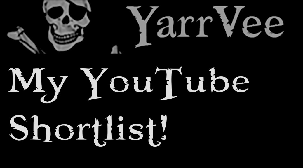 Viewer Question! Short List of YouTubers You Watch?