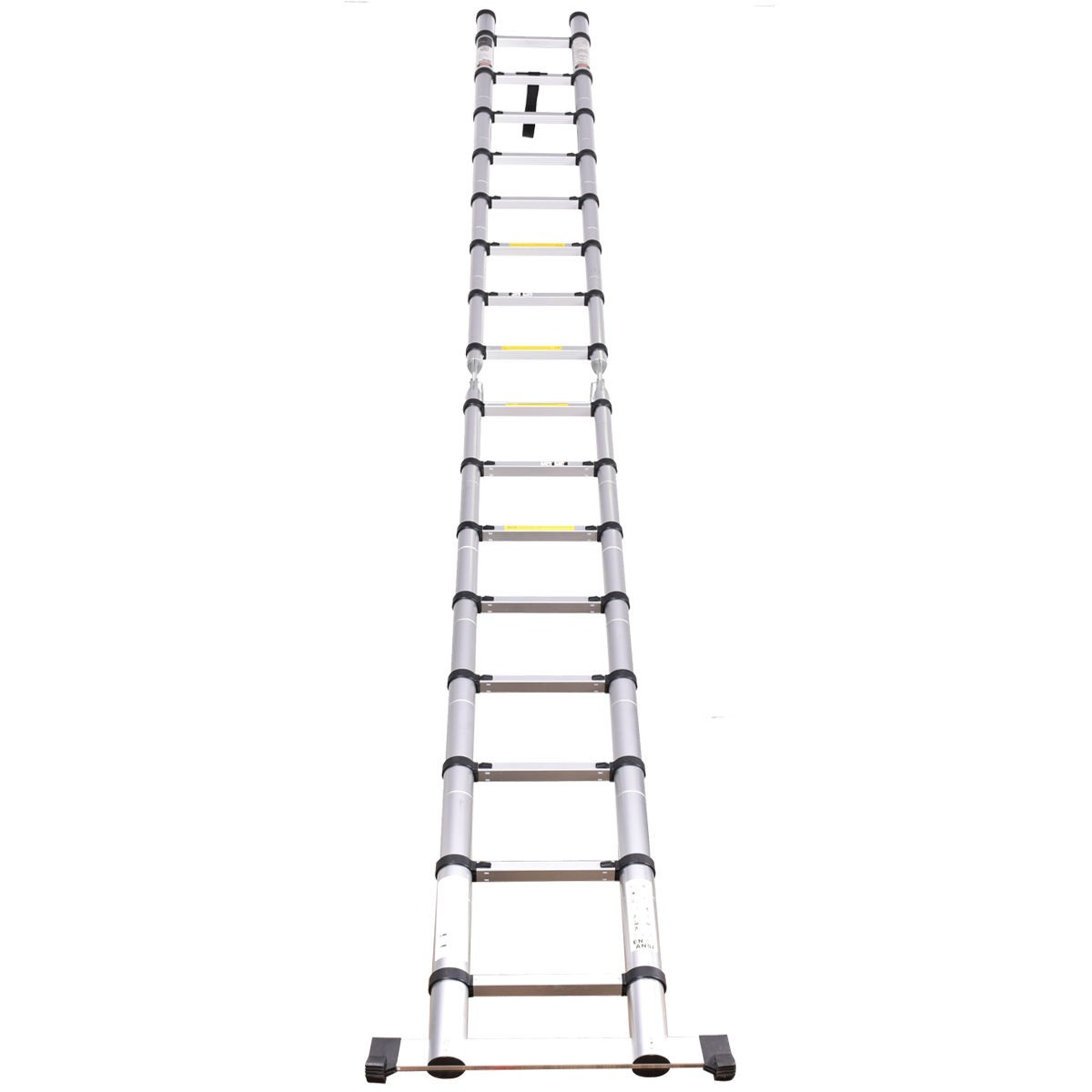16 5ft Aluminum En131 Ladder Telescoping Telescopic
